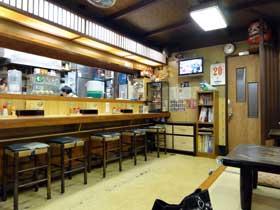 桔梗家(高山らーめん)店内