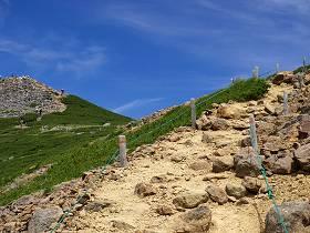 富士見岳の登り口