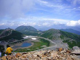 乗鞍富士見岳の山頂