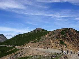 乗鞍畳平富士見岳