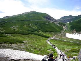 富士見岳(2817m)